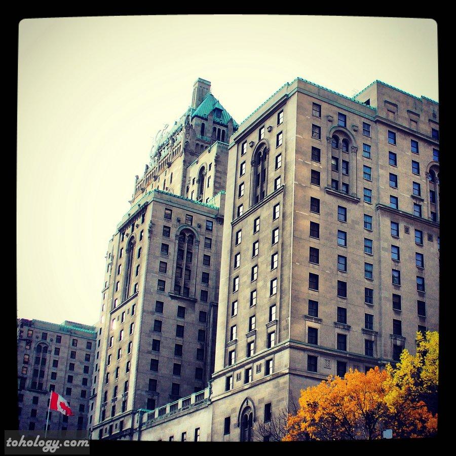 The Fairmont Royal York in Toronto