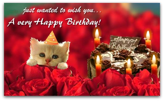 ECards n Greetings Happy Birthday Greeting Card – E Greeting Birthday Card