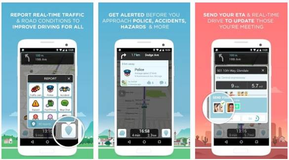Download APK Peta Waze terbaru gratis