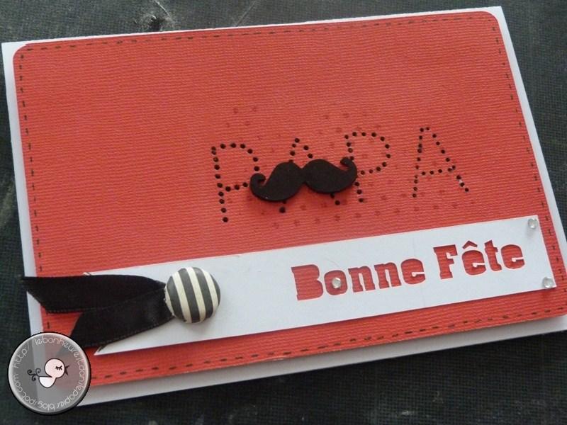 moustache fête des pères