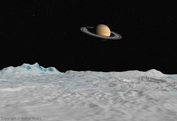 поверхности планеты рисунок