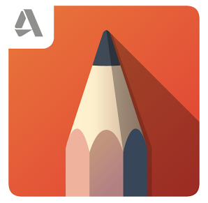 Aplikasi Desain Grafis Sketsa di Android