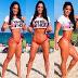 Michelle Lewin causa furor en bikini