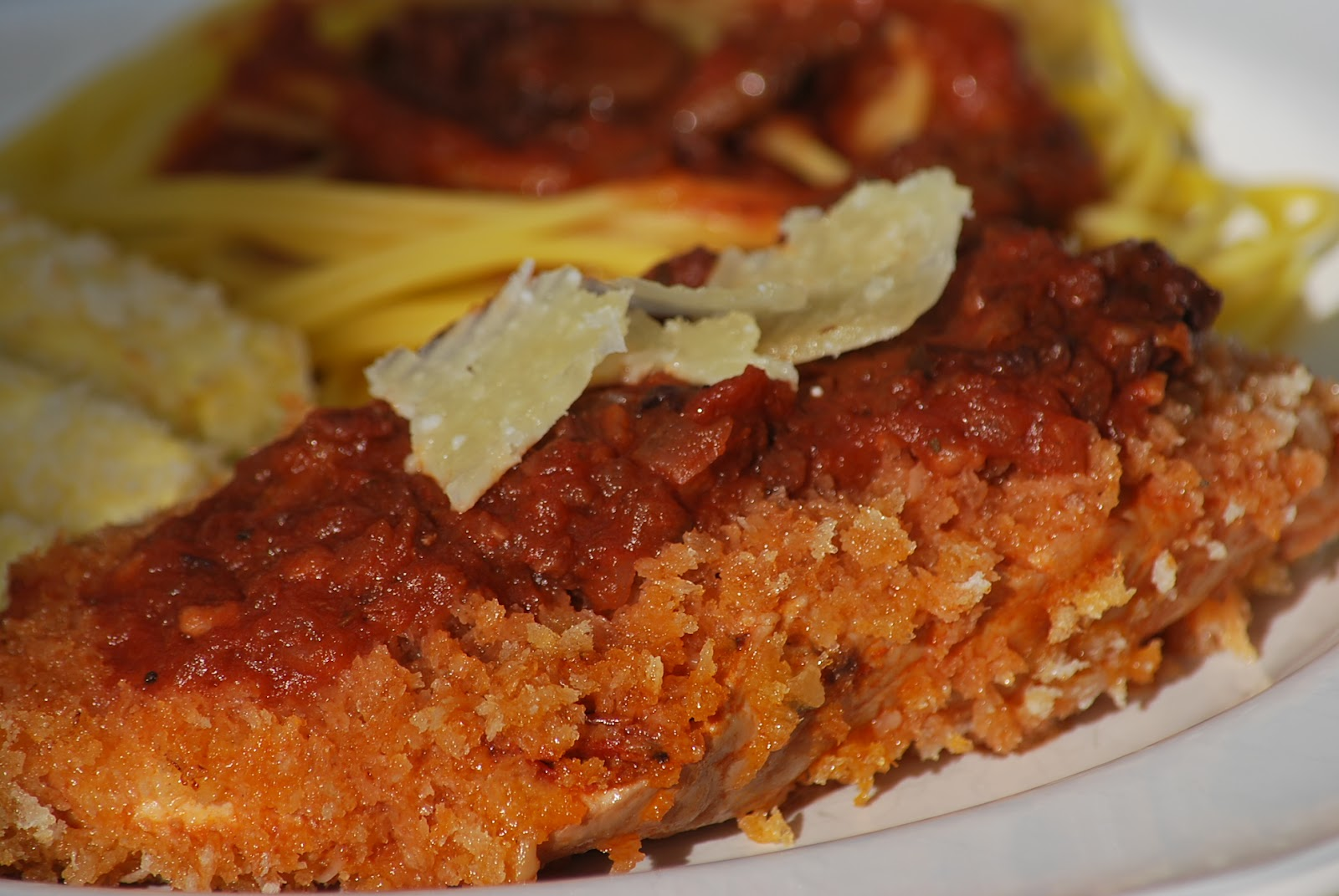 My story in recipes: Crisp Chicken Marinara