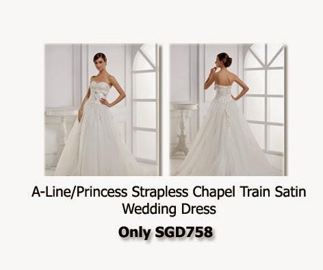 Buying a wedding gown in Singapore