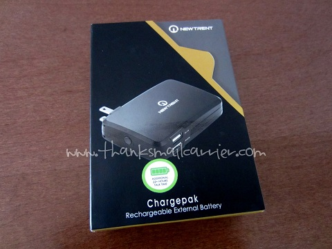 Thanks Mail Carrier New Trent Chargepak Nt600c External