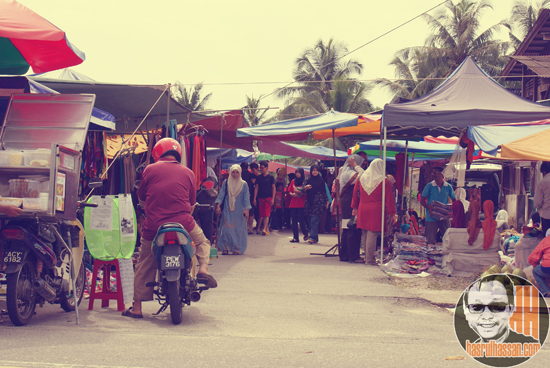 Pasar Kemboja Parit Buntar Jalan Sempadan