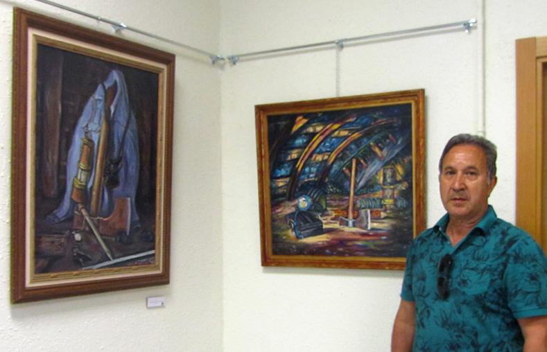 Exposición de Joaquín Castro en Cabañaquinta