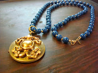 Under the Sea Gold Octopus Locket Necklace by hotGlued