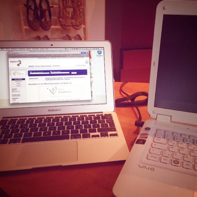Fräulein Bergers MacBook, der Vaio und die Computerprobleme
