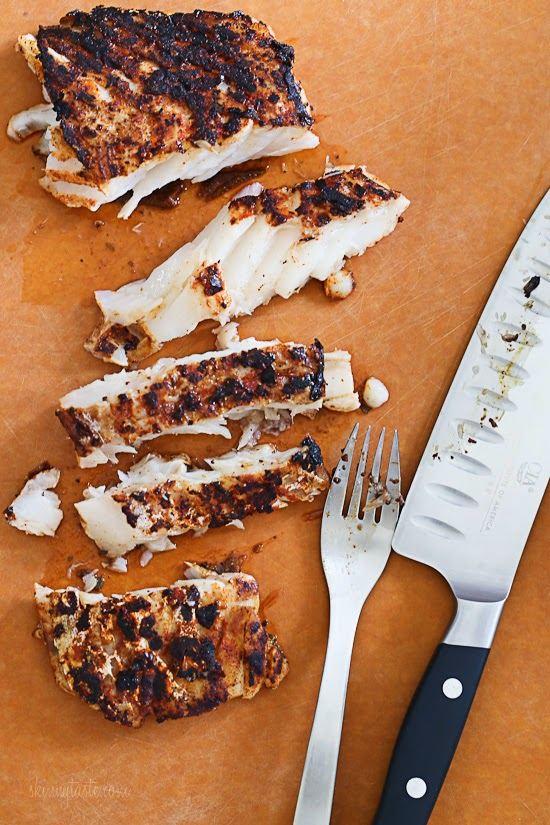 how to cook blackened fish