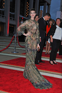 Anne Hathaway at New York City Ballet Fall Gala 2012