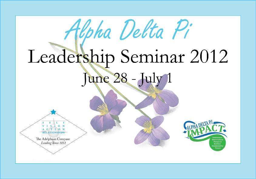 Alpha Delta Pi Leadership Seminar