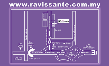 Map to Ravissante