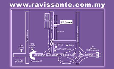 Map to Ravissante