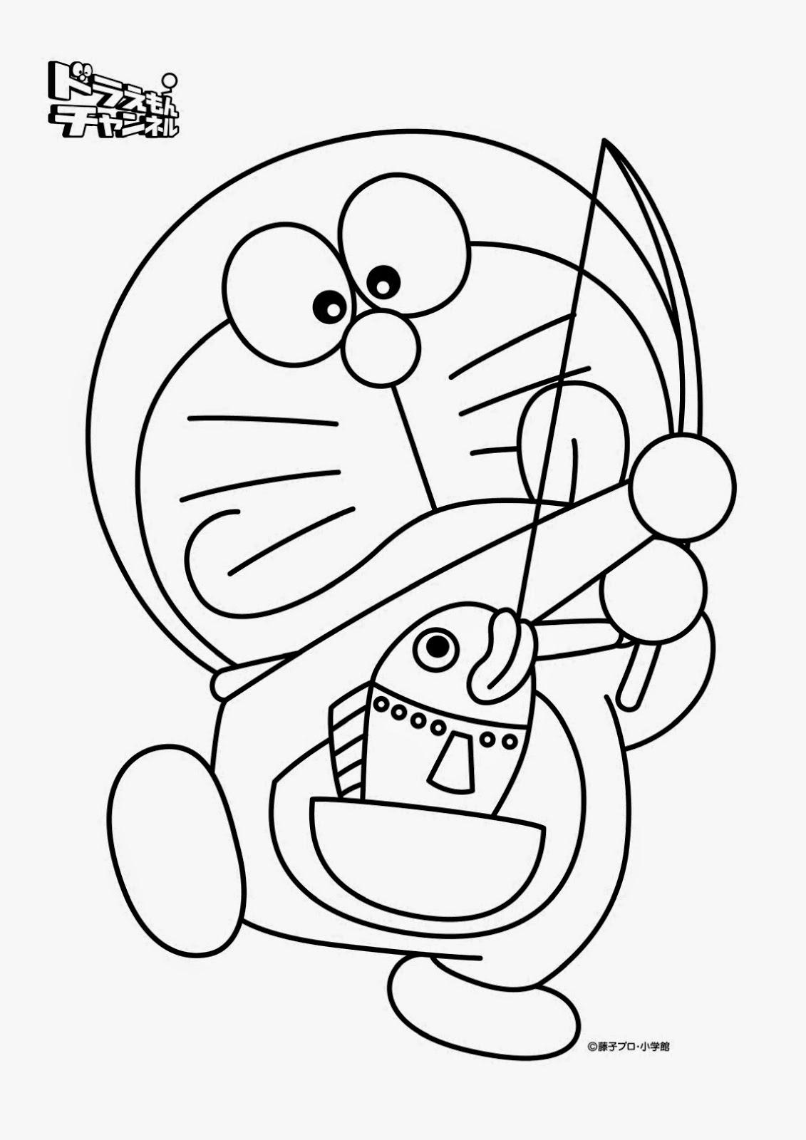 Ausmalbilder Doraemon