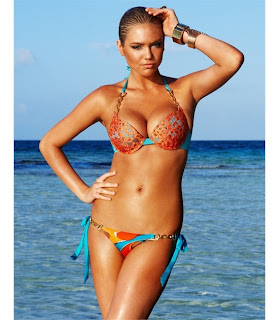 Kate Upton Bronze Beach Bunny Collection, Kate Upton Beach Bunny Swimwear Collection