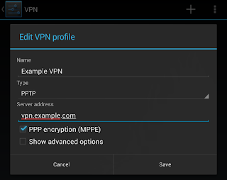 Tap VPN to connect
