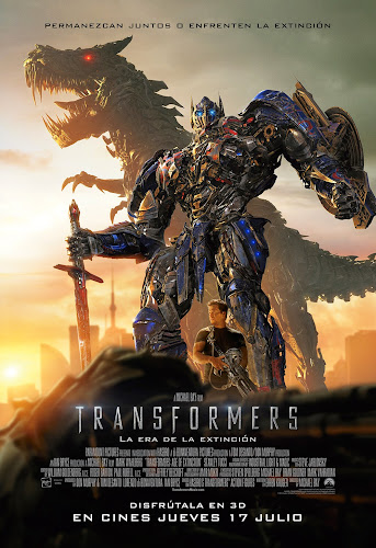 Ver: Transformes 4, la era de la extinsion