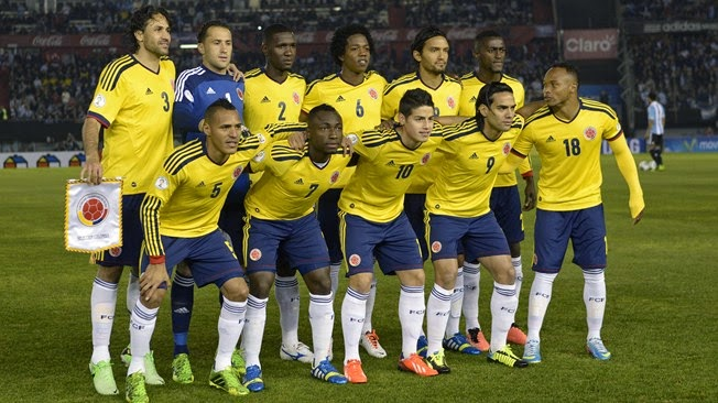 Squad Lists (Colombia)- FIFA 2014