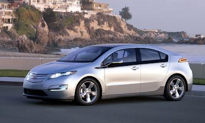 Chevrolet Volt самый экологичный автомобиль 2011 года по версии Green Car