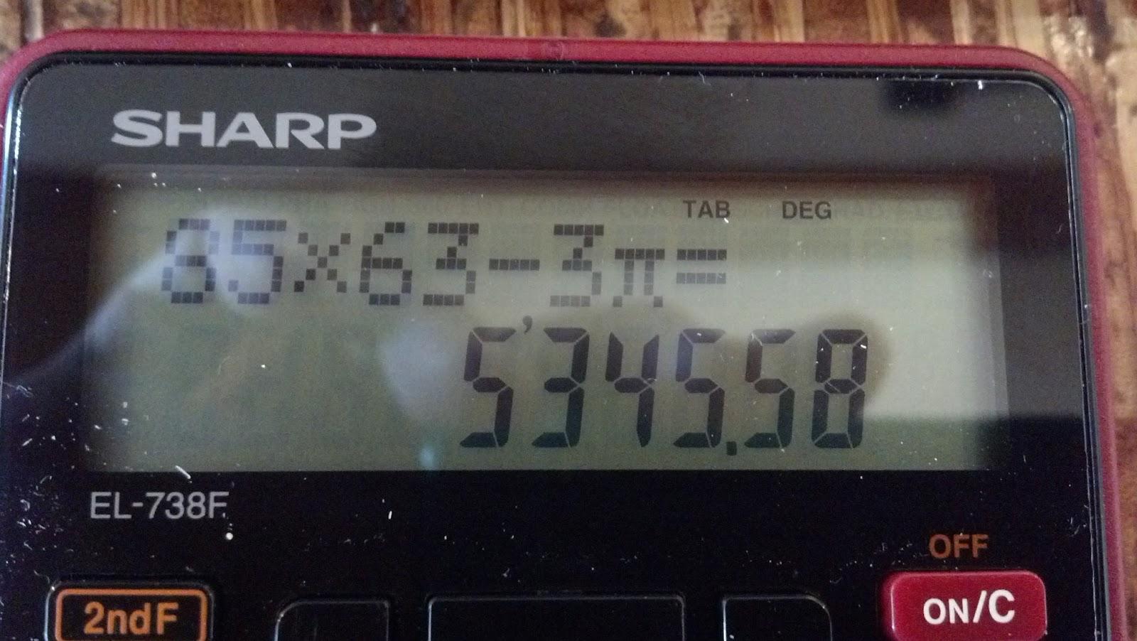 sharp el 738. review: sharp el-738f financial calculator el 738