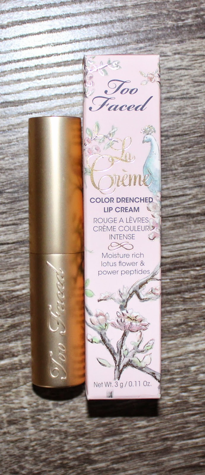 Too Faced La Crème in Jelly Bean