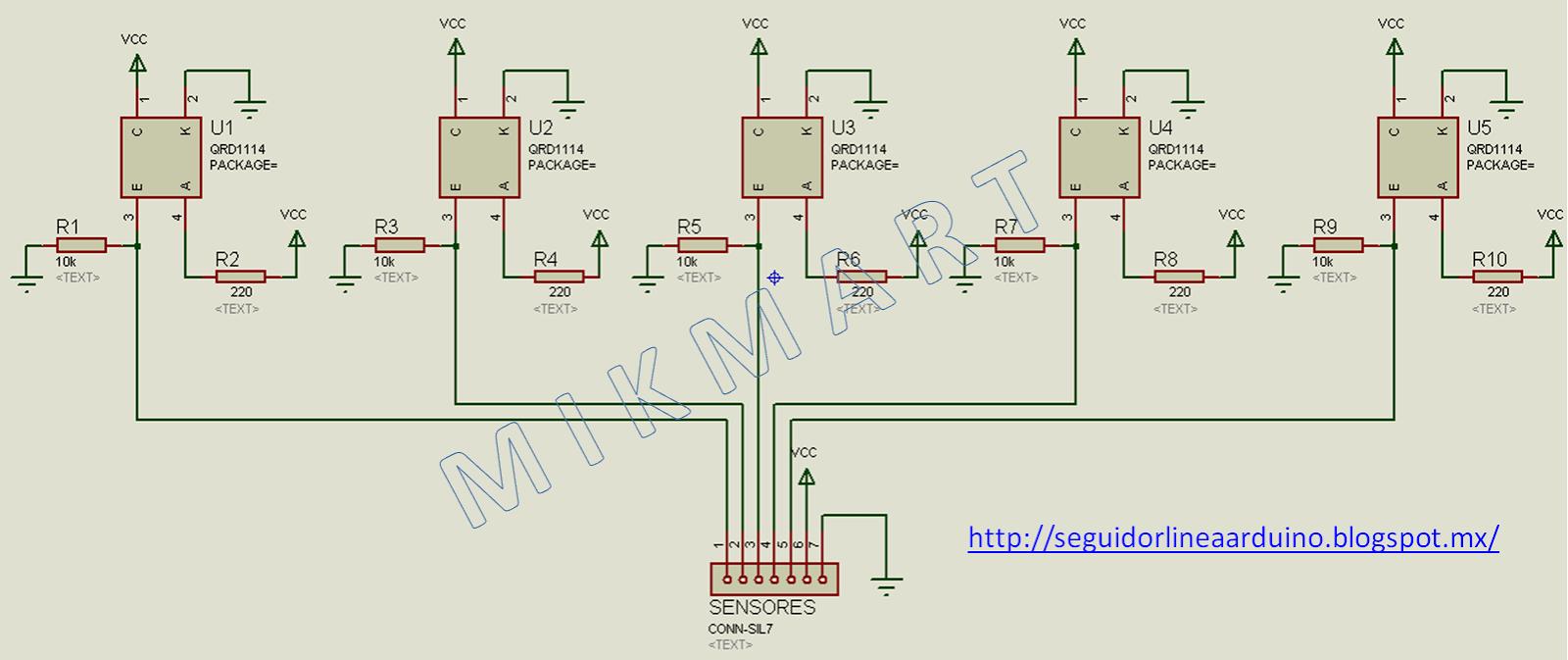 Sensor QRD 1114 Como conectar al Arduino? DUDAS