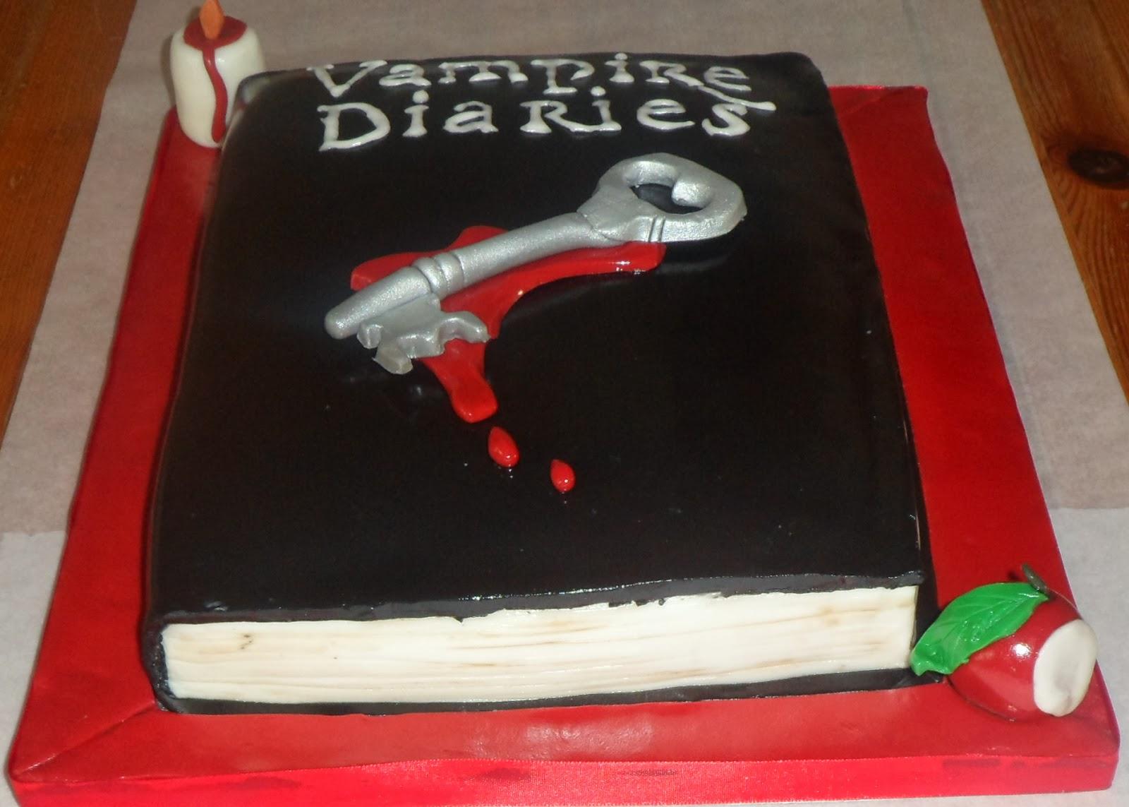 Rias Cakes Vampire Diaries