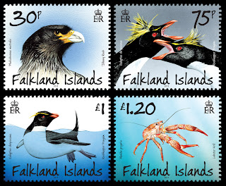 Falkland Islands - Penguins, Predators and Prey Part 2 - www.pobjoystamps.com