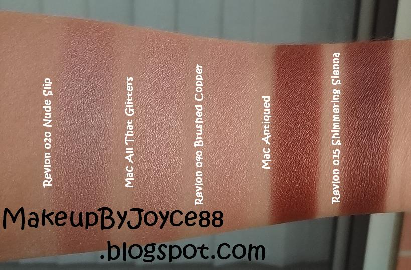 ❤ MakeupByJoyce ❤** !: Swatches & Review: Revlon Luxurious Color ...