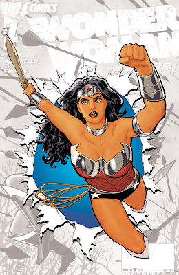 Cover of Wonder Woman #0