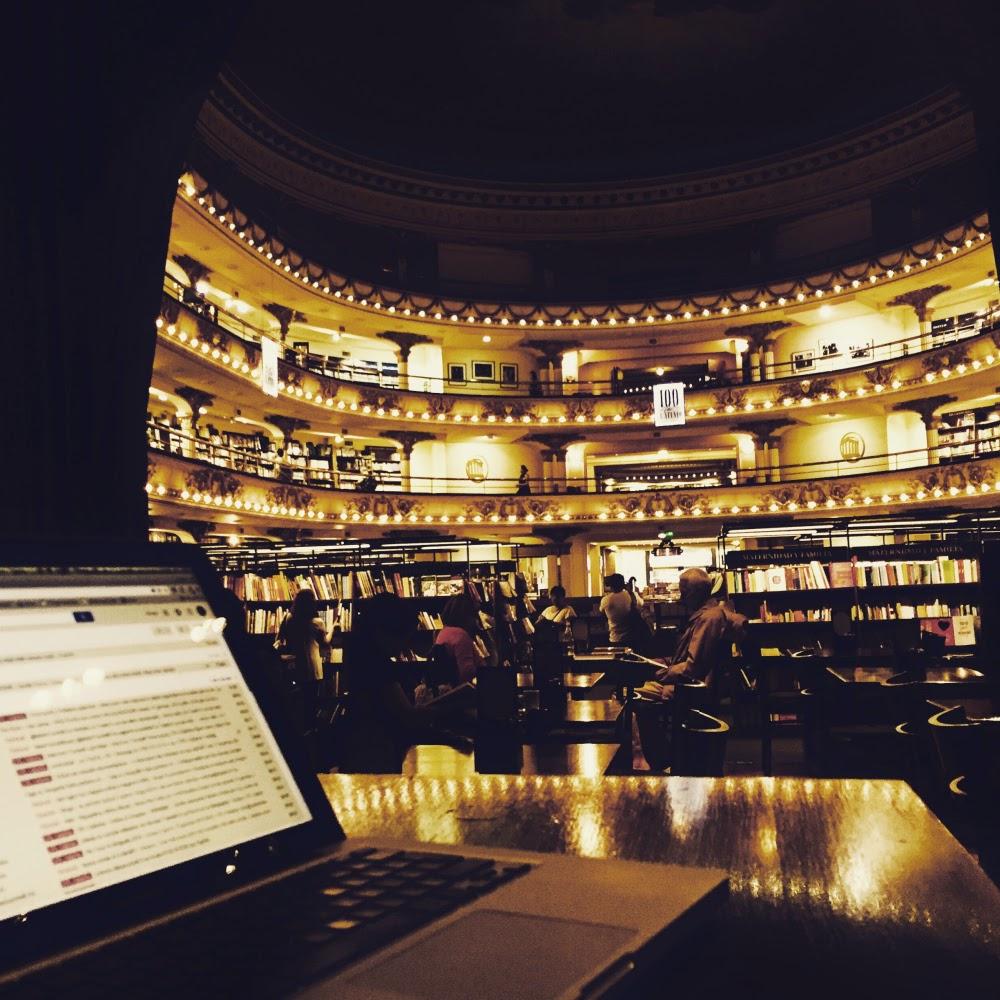 L'ufficio a El Ateneo - foto di Enrico Ratto
