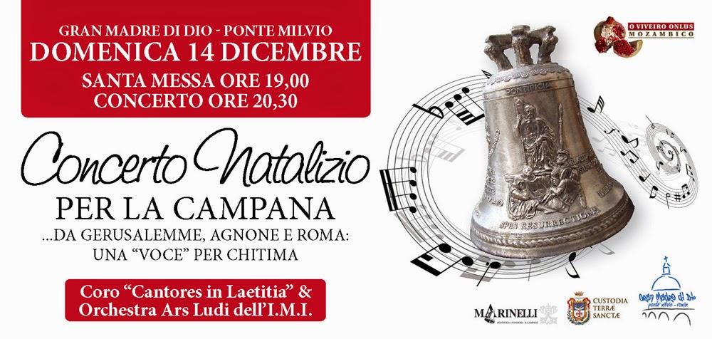 Invito Concerto di Natale a Roma