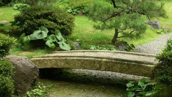casa linda Tipos de Jardim Japonês