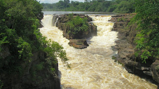 África Central Kembe Falls