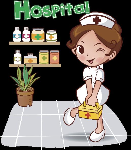 Enfermeras dibujos animados con movimiento - Imagui