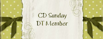 CD Sunday DT