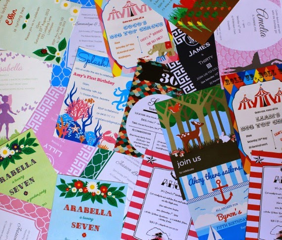 Printable Party Invitations by Love That Party www.lovethatparty.com.au