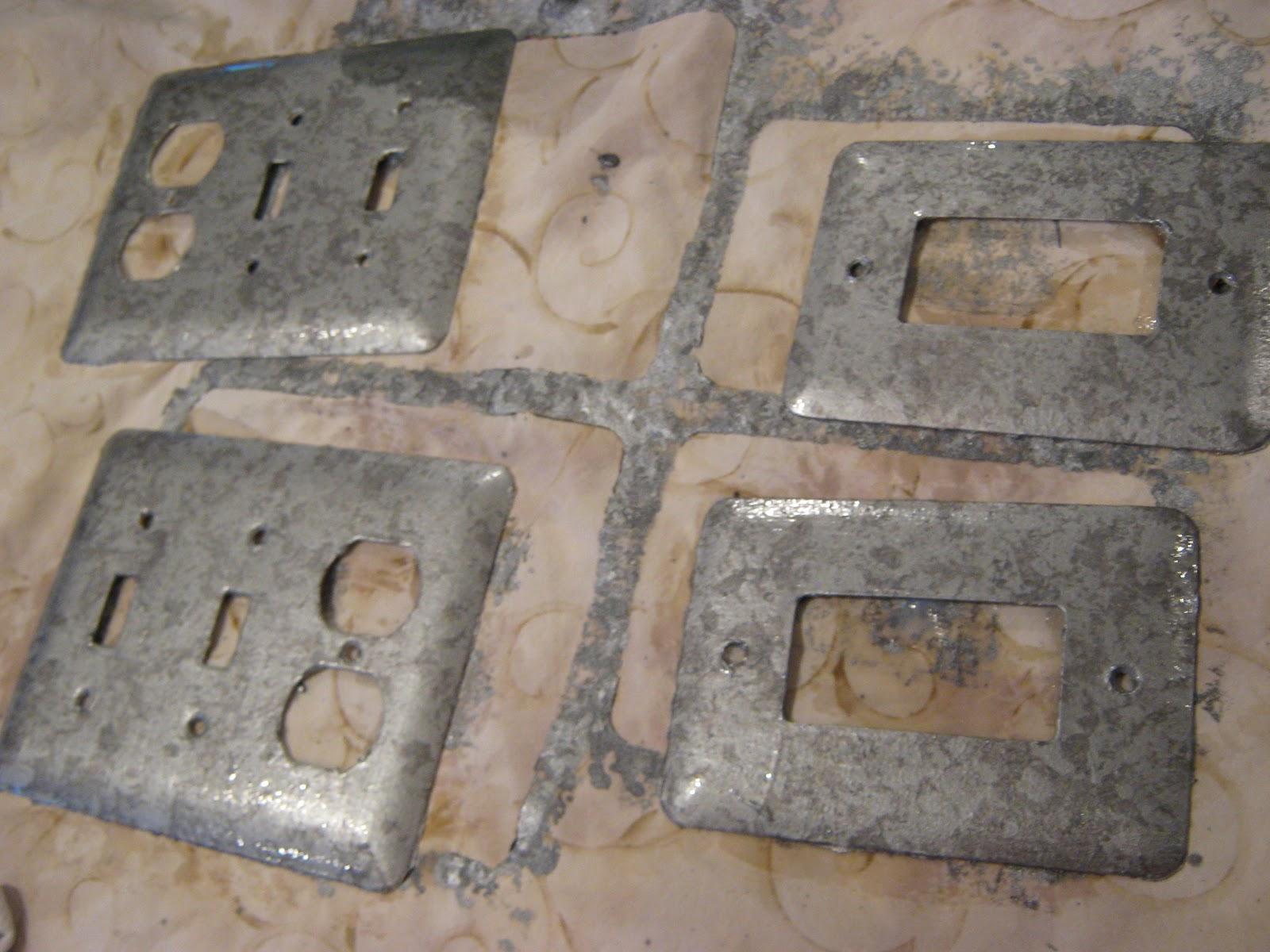 fake it frugal fake punched tin backsplash fake punched tin backsplash