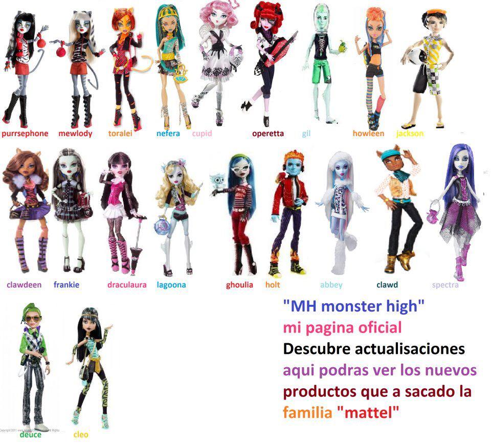 Imagenes De Las Nuevas Monster High