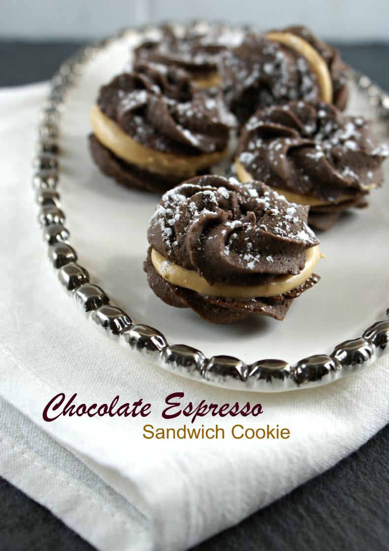 Authentic Suburban Gourmet: Chocolate Espresso Sandwich ...
