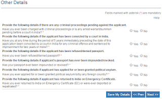 Step 6: Apply for Passport\Re-issue Passport Online
