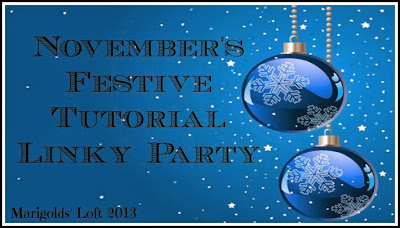 Festive Tutorial Linky Party