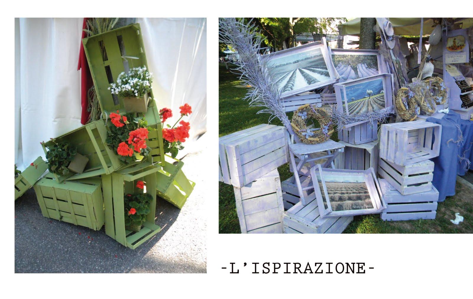Sferruzz&Co: Diy/Dipingere e decorare vecchie cassette da frutta ...