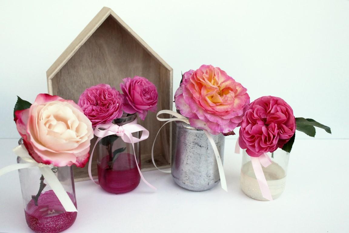 kleines freudenhaus diy upcycling vasen f r 1000 gute gr nde. Black Bedroom Furniture Sets. Home Design Ideas