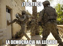 La democracia según el imperio