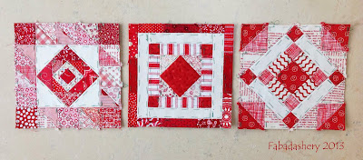 Nearly Insane Quilt - Blocks 39, 59, 85