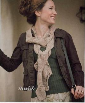Bufanda a Crochet