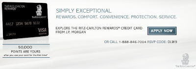The Ritz-Carlton Rewards Credit Card